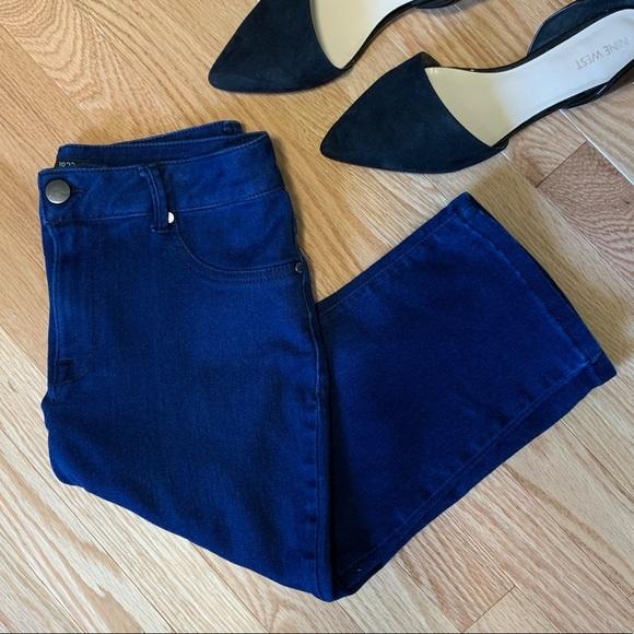 0dedd27425e52 1822 Denim Jeans | Dark Wash Stretch Capri C4 | Poshmark
